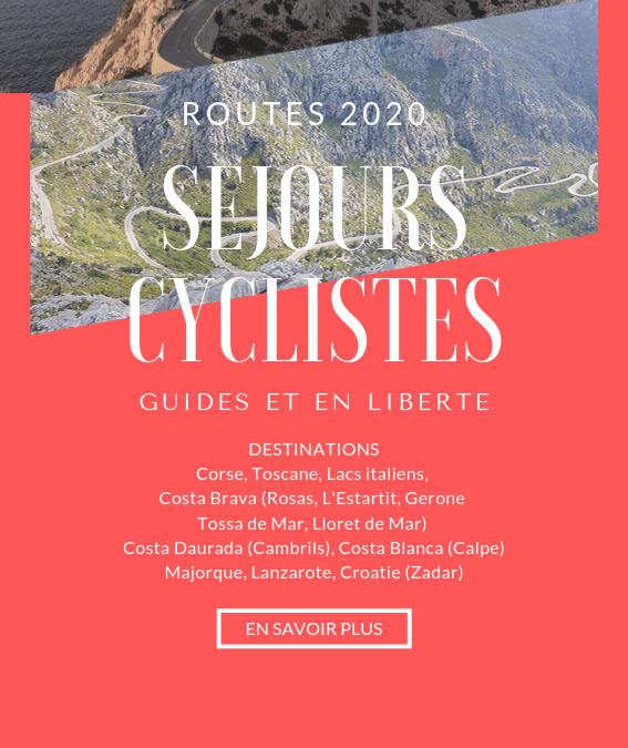 Séjours cyclistes 2020 avec Aventure Bike